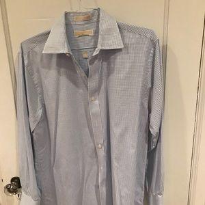 Michael Kors dress shirt, size L (16/32-33).